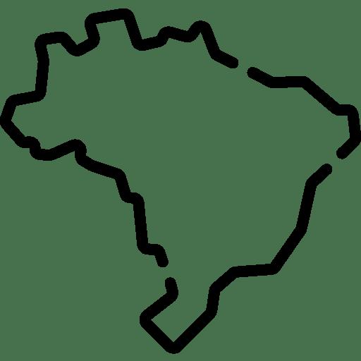 Ícone Mapa Brasil