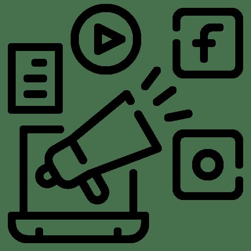 Ícone Redes Sociais
